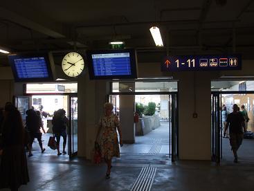 Wien Westbahnhof platforms