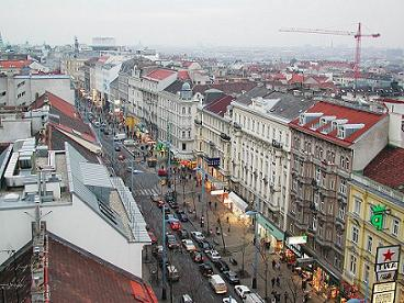 mariahilferstrasse in vienna austria picture shared licence wikipedia