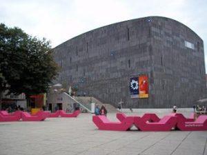 Mumok museum in Vienna Austria