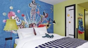 hotelroom in 25hours Hotel beim MuseumsQuartier